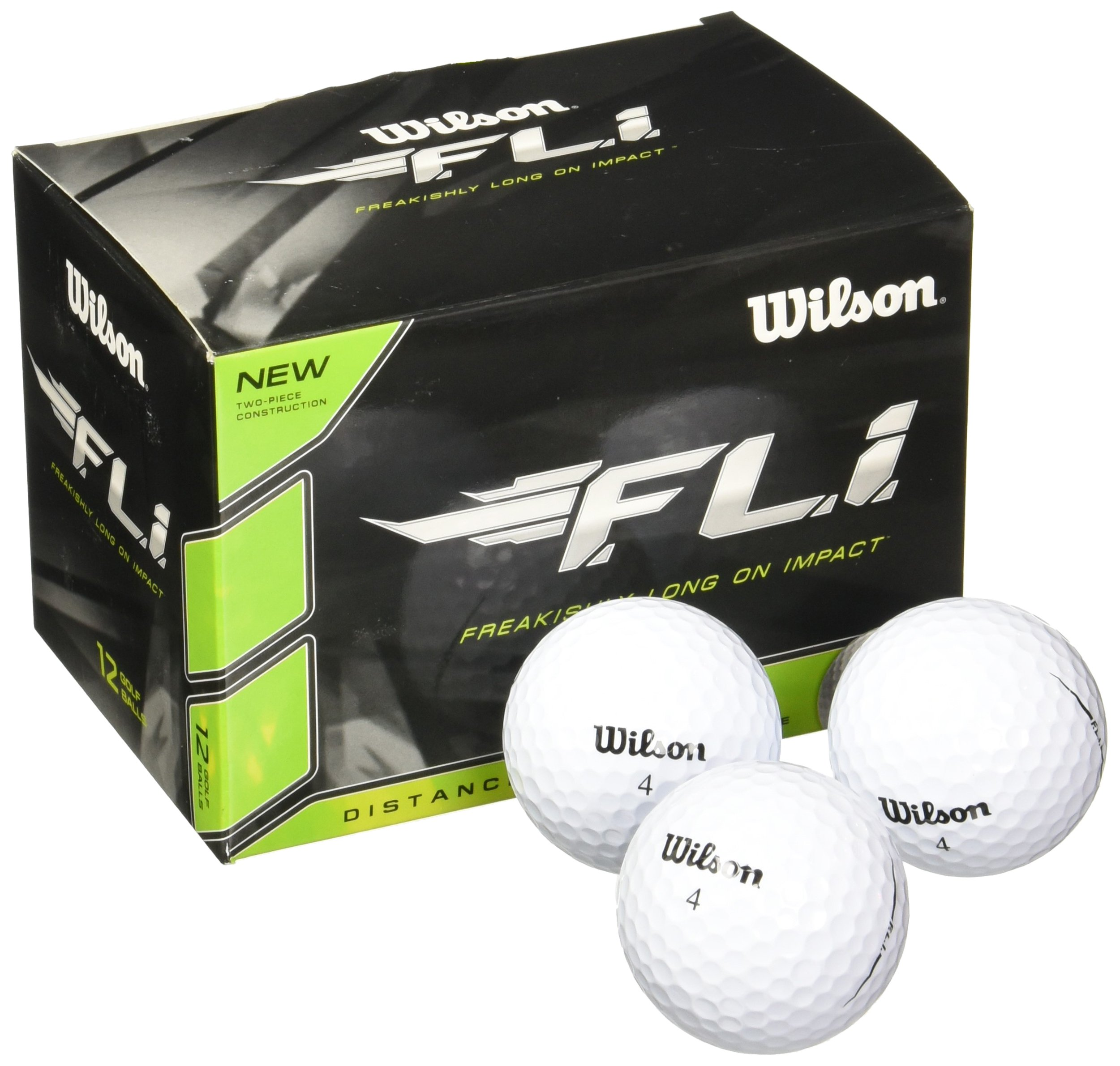 Wilson Staff F.L.I. Golf Balls (Pack of 12) White