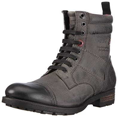 d1674d850d33d4 Tommy Hilfiger Men s Darryl 6 Granit Lace Up Boot FM5FB01489 9.5 UK ...