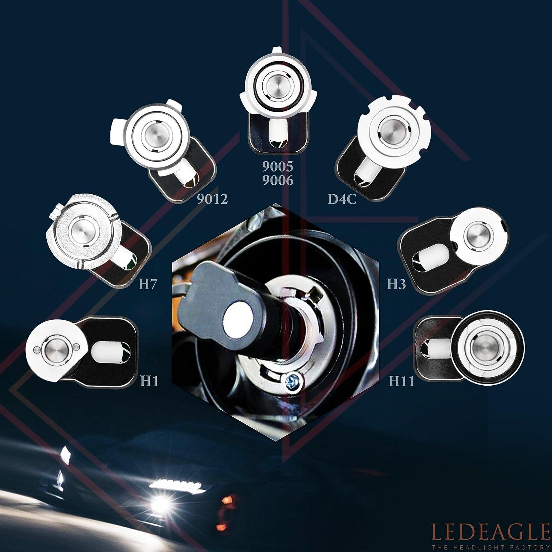 Replace High Low Fog Halogen/HID/OEM Light For Dodge RAM