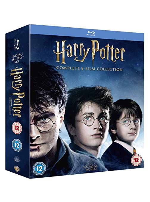 Harry Potter Special Edition Boxset 16 Blu-Ray Edizione: Regno ...