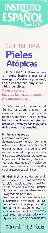 Amazon.com : INST.ESPAÑOL GEL HIGIENE INTIMA PIELES ATOPICAS 300 ML ...