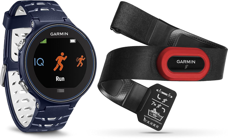 Garmin Forerunner 630 + HR Run2 630-Pack con Reloj y pulsómetro ...