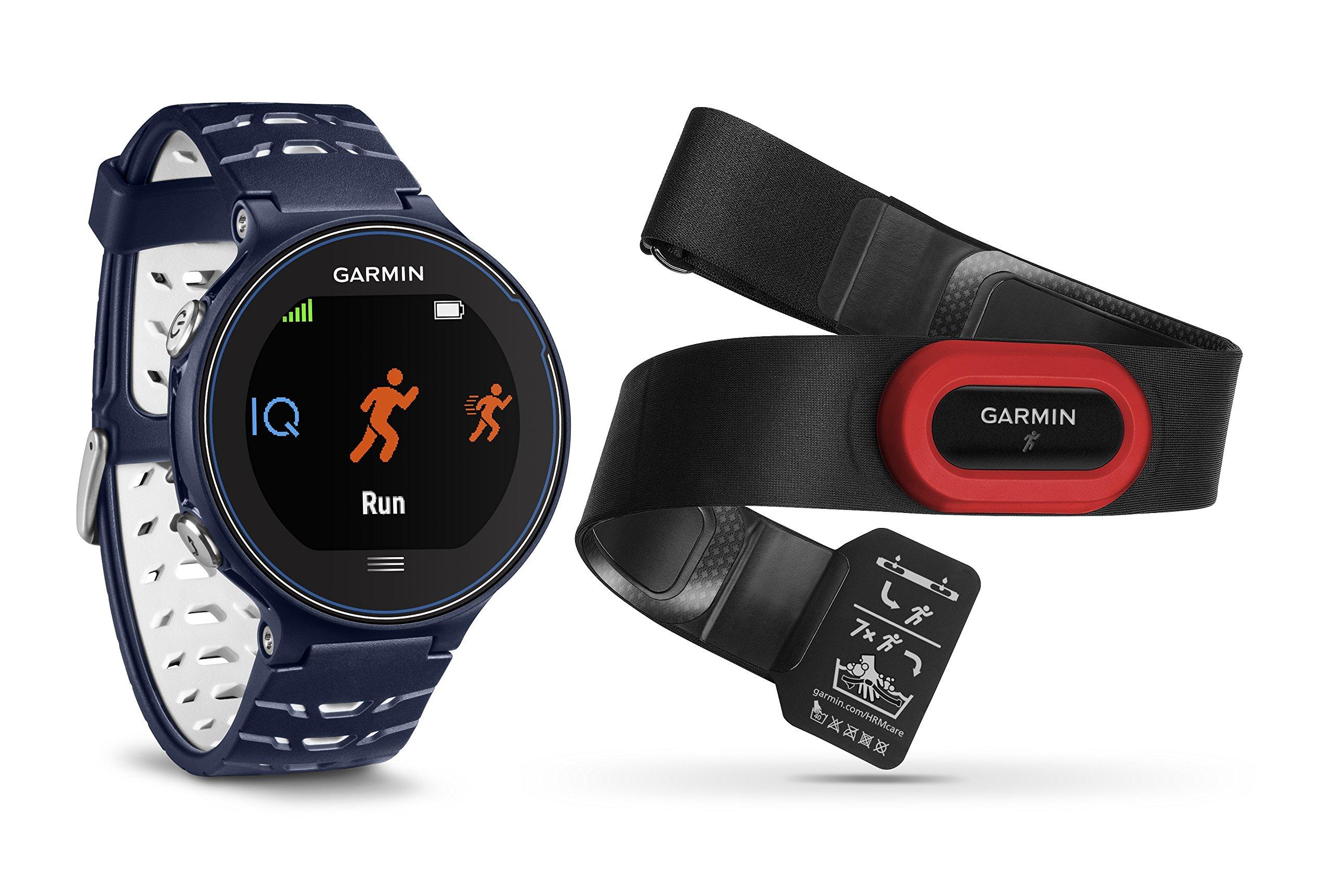 Garmin Forerunner 630 HRM - Reloj GPS con pulsómetro y métricas de Carrera avanzadas, Color