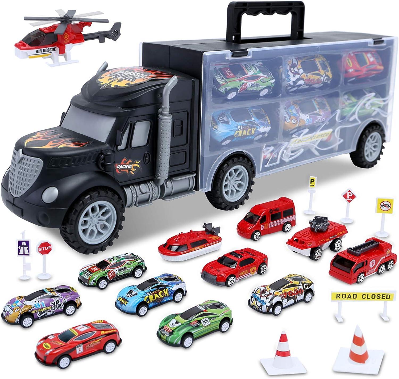 Set of Vintage Toys Trucks Cars Kids Children
