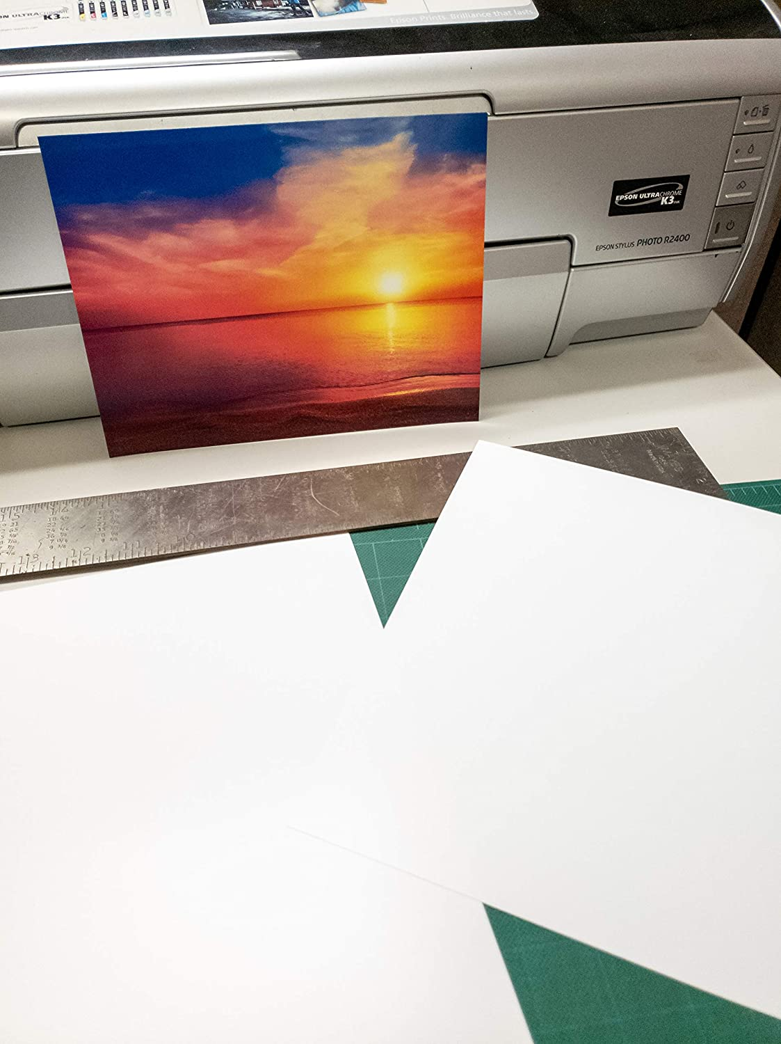 "5"" X 7"" Premium Matte Bright White Inkjet Double Sided Photo Paper - 100 Sheets"