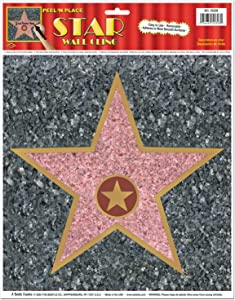 Beistle 55328 Star Peel N Place Sheet, 10 by 11 - Inch (Value 3-Pack)