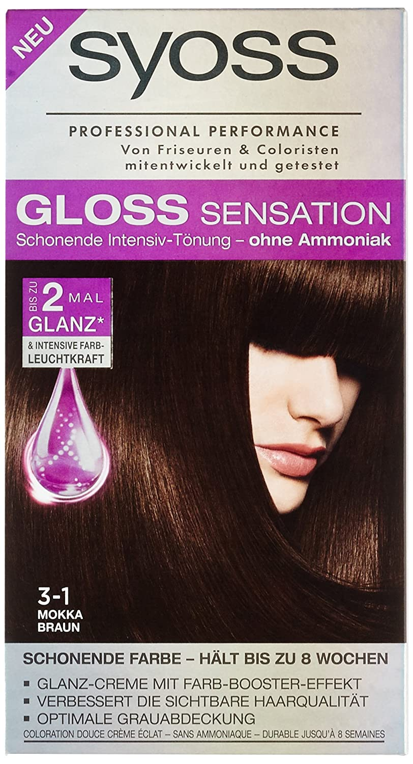 Coloration Stufe 2, 3-1 Mokka Braun, 115 ml Syoss SG310