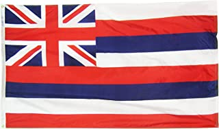 product image for Annin Flagmakers Model 141260 Hawaii State Flag 3x5 ft. Nylon SolarGuard Nyl-Glo 100% Made in USA to Official State Design Specifications.