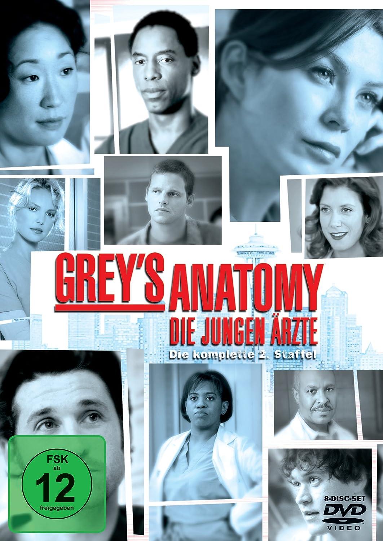 Grey\'s Anatomy: Die jungen Ärzte - Die komplette 2. Staffel 8 DVDs ...