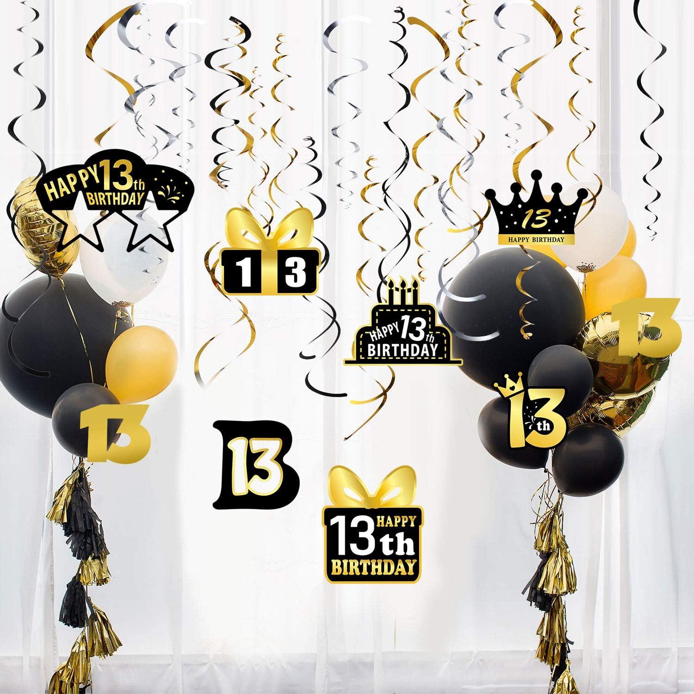 Globos de Crown y Globos de L/átex JinSu Decoracion Cumplea/ños para Ni/ña 13 PCS con Cumplea/ños Globos Numero Rosa 0