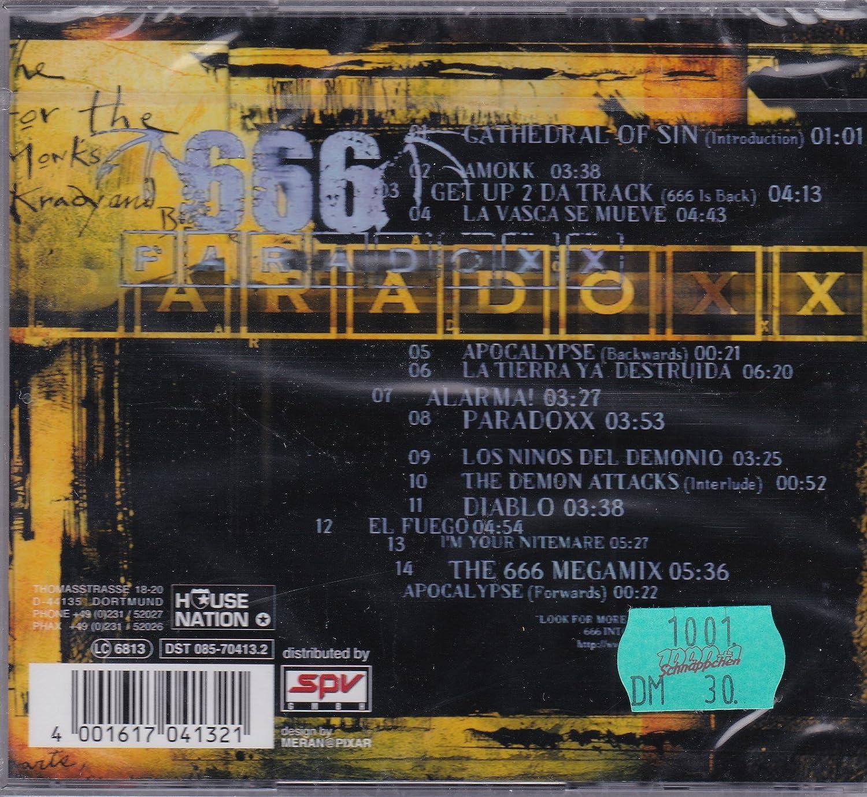 album paradoxx 666