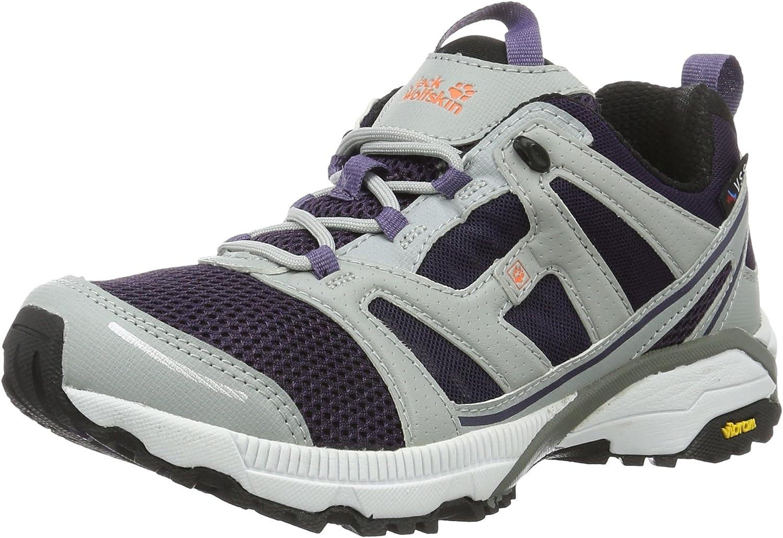 Jack Wolfskin - Zapatillas de Running para Asfalto Mujer, Gris (Prune), 37 (EU): Amazon.es: Zapatos y complementos