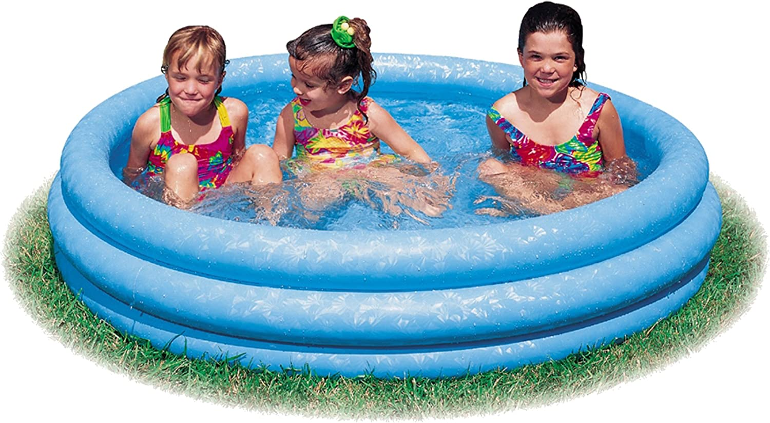 Intex 58446NP - Piscina hinchable 3 aros azul 168 x 38 cm, 581 ...