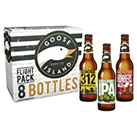 Goose Island Flight Pack Beer Bottles 8 x 355ml