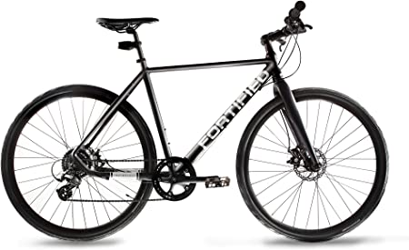 side facing fortified theft-resistant hybrid bike