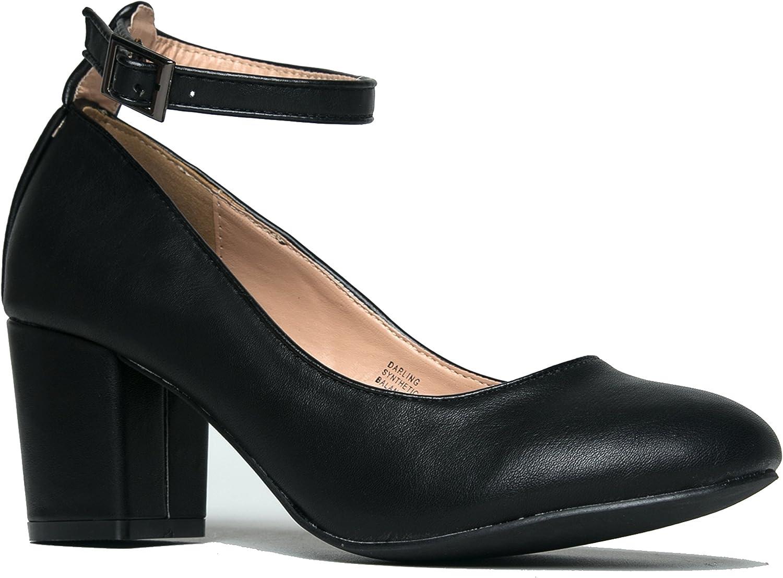 Ankle Strap Pump Heels