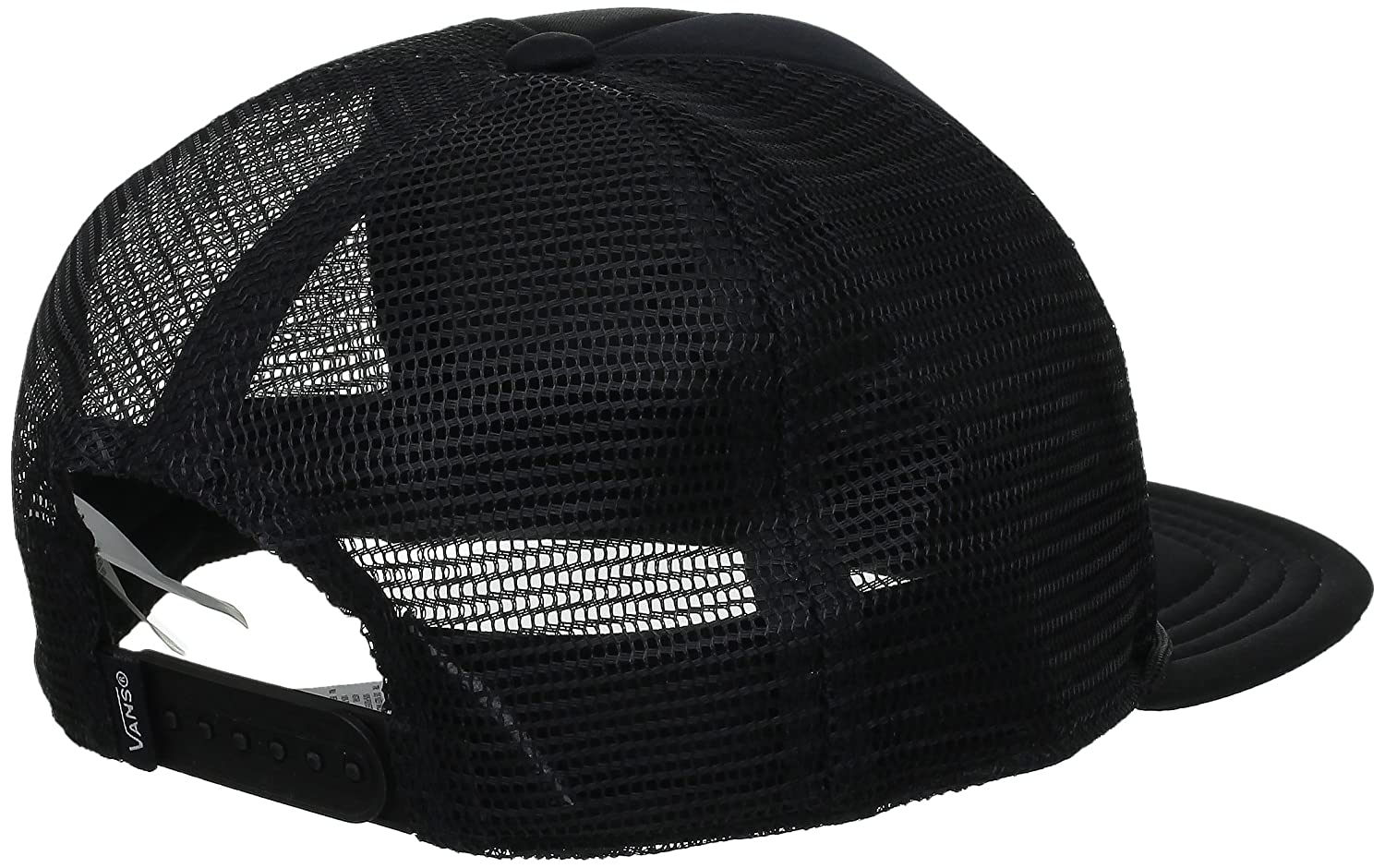 Vans Mens Classic Patch Trucker, Black, One Size at Amazon Mens Clothing store: Baseball Caps