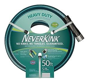 Teknor Apex 100519499 NeverKink 8615-50, Heavy Duty Garden Hose, 5/8-Inch by 50-Feet