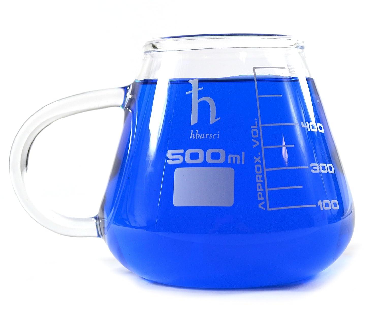 Cuisiniers Tasse en verre de borosilicate 500 ml sucre farine de riz Poids neuf nouveauté