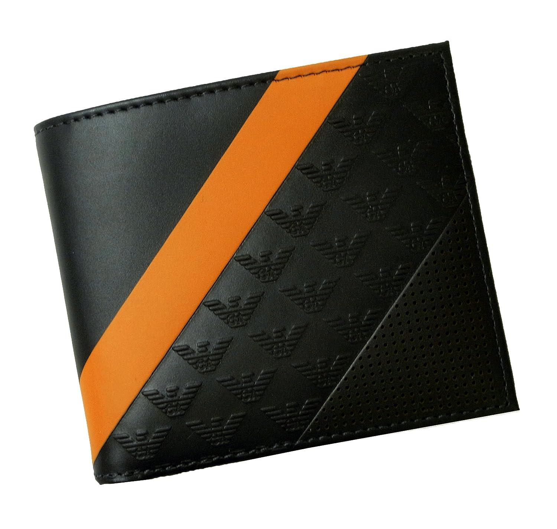 [アルマーニ] 財布 二つ折 (ミッドナイトブルー) エンポリオアルマーニ A-2467 [並行輸入品] B06XDBXZSD