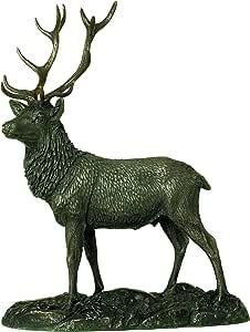 Genesis Nuevo Modelo. Adorno o Escultura de Ciervo de Bronce Fundido en frío 'The Stag'