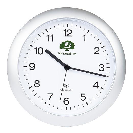 Ultranatura RC 50 - Reloj de Pared controlado por Radio con ...