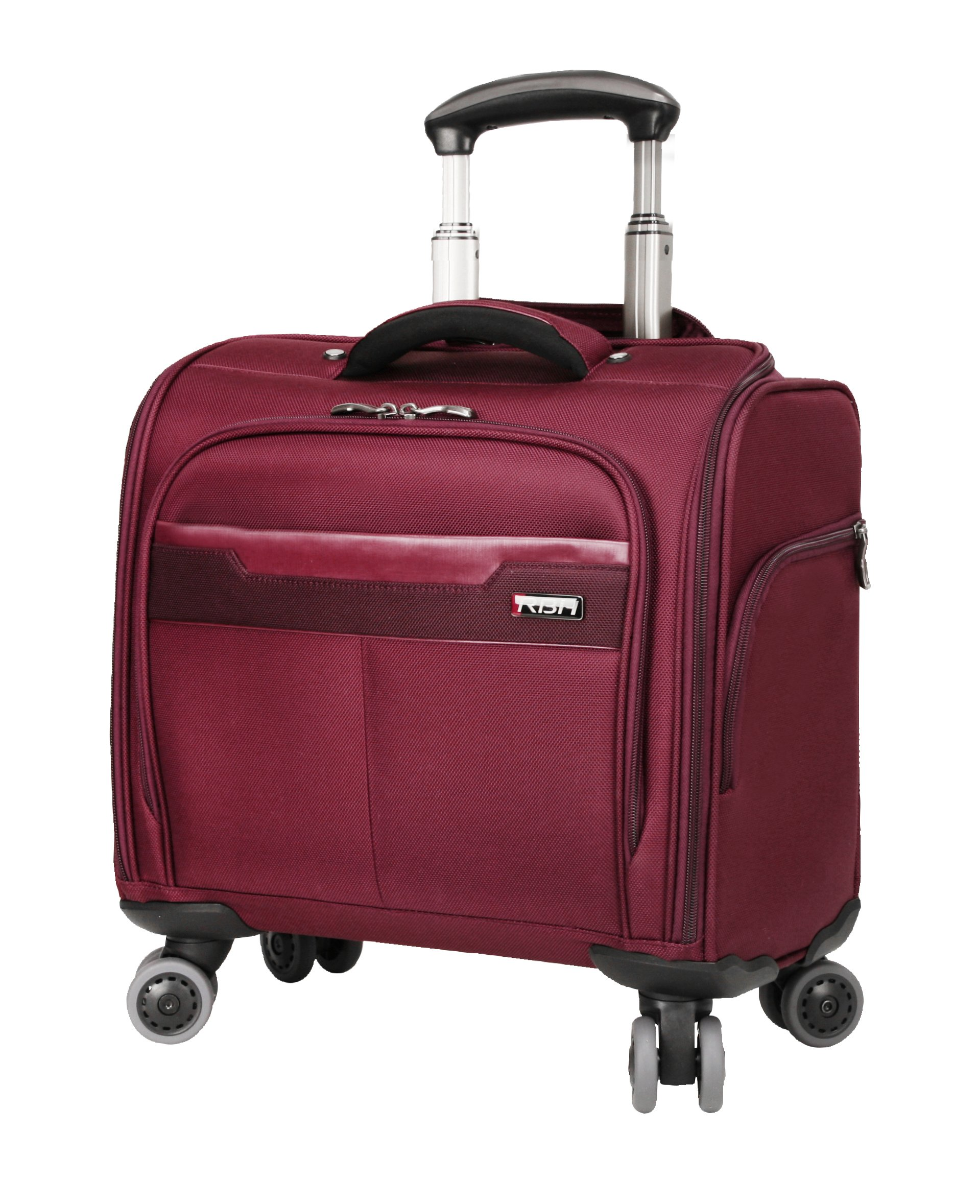 Ricardo Beverly Hills Bel Aire 16-Inch Rolling Tote, Wine, One Size