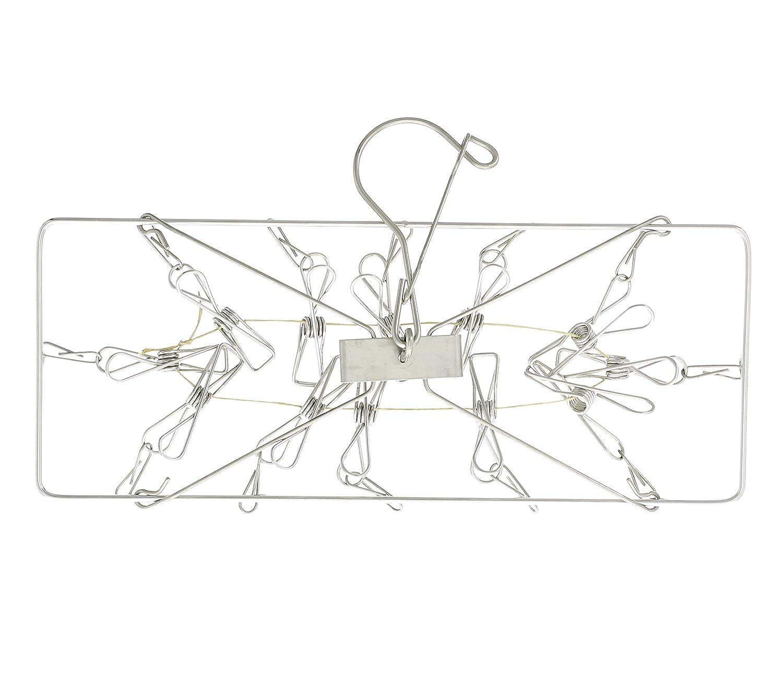 MojaFiber Hang Dry - 12 Item Hanger for Air Drying Delicates and Microfiber MojaWorks