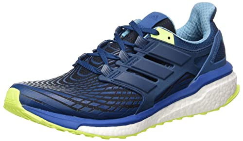 online store 42277 1dc8f adidas Menss Energy Boost m Running Shoes Blue F17BLUE Night F17SOLAR  Yellow