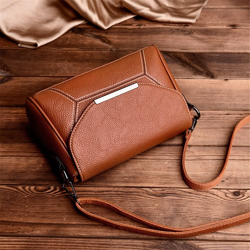 LadyS Leather Soft Leather Bag With A Small Bag With A Shoulder Bag,Claret,26X17X8Cm
