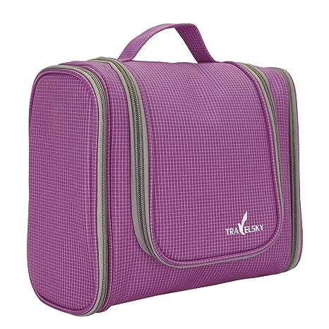 d4f2681c48ae Amazon.com: NONMON Toiletry Bag for Women/Men - Waterproof Travel ...