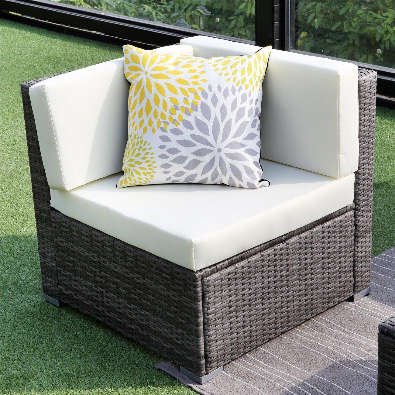 Amazon.com: Wisteria Lane - Juego de muebles de jardín (5 ...