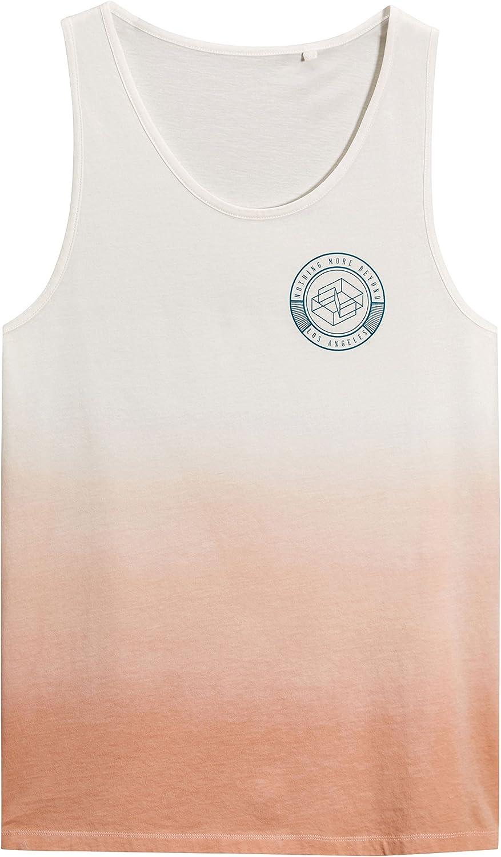 next Hombre Camiseta Sin Mangas Diseño Efecto Desteñido ...