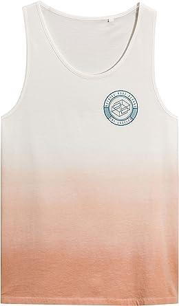 next Hombre Camiseta Sin Mangas Diseño Efecto Desteñido Corte ...