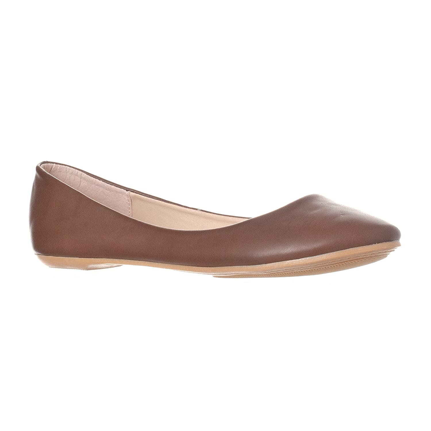 Riverberry Women's Aria Closed, Round Toe Ballet Flat Slip On Shoes B017CC90RC 8.5 M US|Coffee Pu