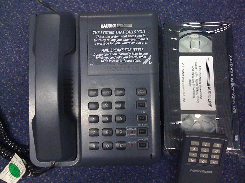 Audioline 916 – Teléfono fijo, color Doro – con contestador automático: Amazon.es: Electrónica
