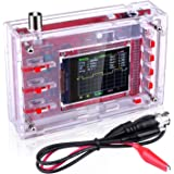 """Assembled Finished Machine ETEPON Digital Oscilloscope Kit Shell 2.4/"""" TFT with BNC-Clip Cable Probe EM001"""