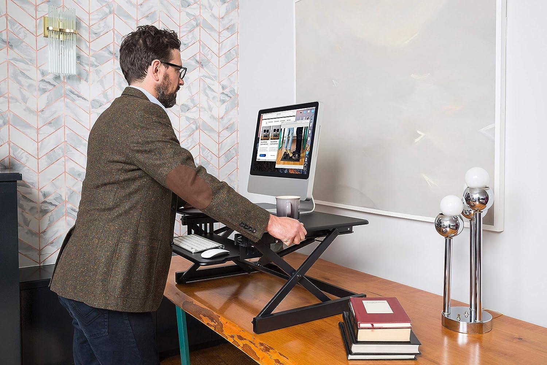 Amazon.com: Rocelco elevador de escritorio ajustable de 40.0 ...