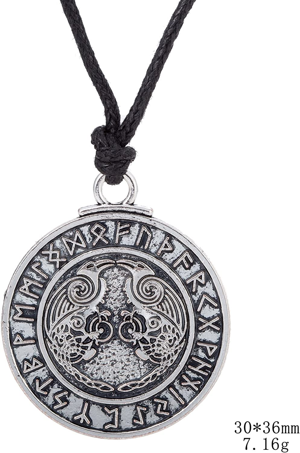 Charm Crescent Moon Poes Raven Pendant Raven Necklace Poe Nevermore Goth Jewelry Literary Retractable Badge Reel with Waterproof ID Holders /& Keychain