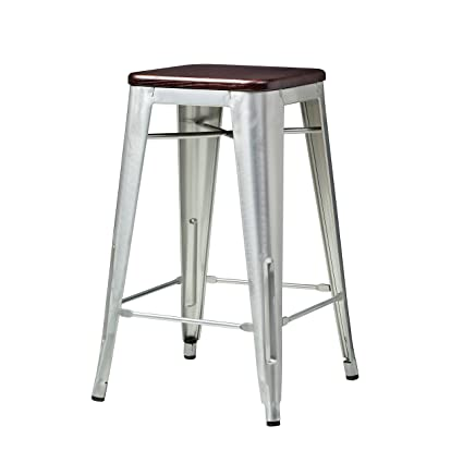 Amazoncom Design Tree Home Wright Tolix Style Counter Stool With