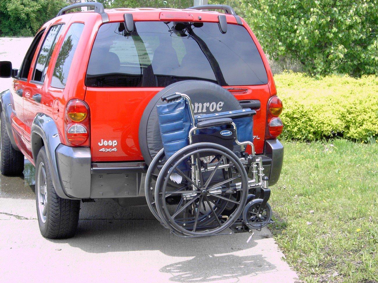 Wheelchair Carriers 001 Tilt n Tote