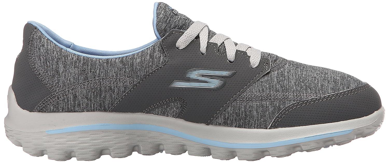 Skechers Performance Women's Go Walk 2 - Backswing Walking Shoe B013KOMV9U 9 B(M) US Grey/Blue