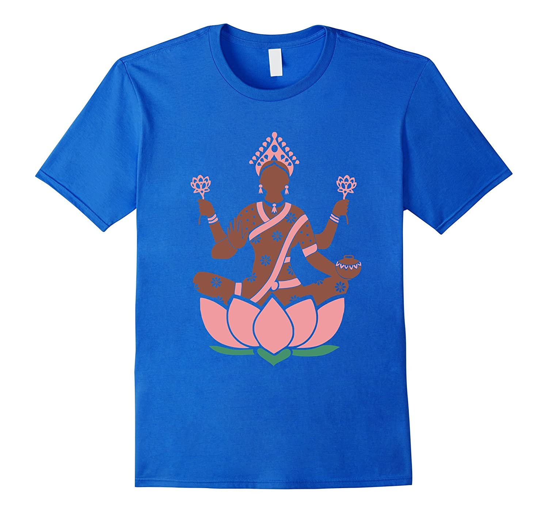 587bdfa0 Lakshmi Sri T Shirt Hindu Hinduism Gods tee-CL – Colamaga