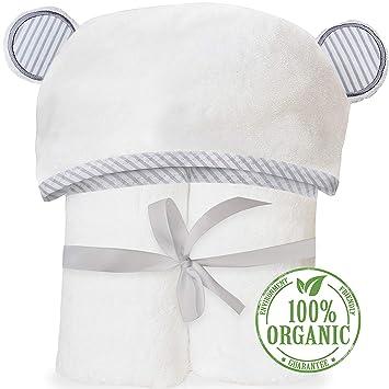 Amazon.com   Organic Bamboo Hooded Baby Towel - Soft 4e3ea8fb8ccf