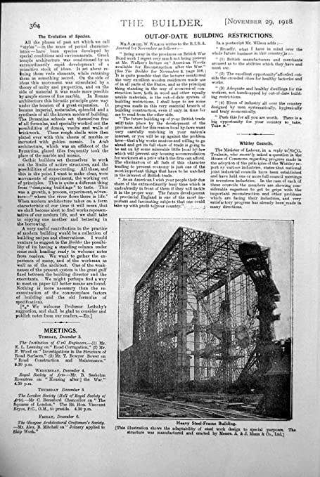 Amazon.com: old-print Print Heavy Steel-Frame Building Manufactured ...