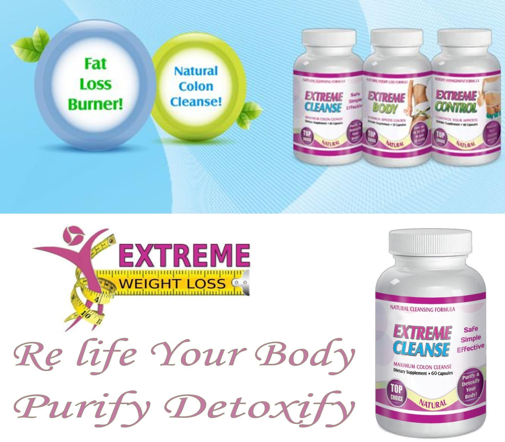 Extreme Cleanse Control Weight loss Diet System Kit 30 Day Supply All Natural by SliMaxUSA (Image #5)