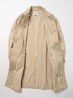 Bal Collar Coat 11-19-0586-730: Beige Chino Cloth