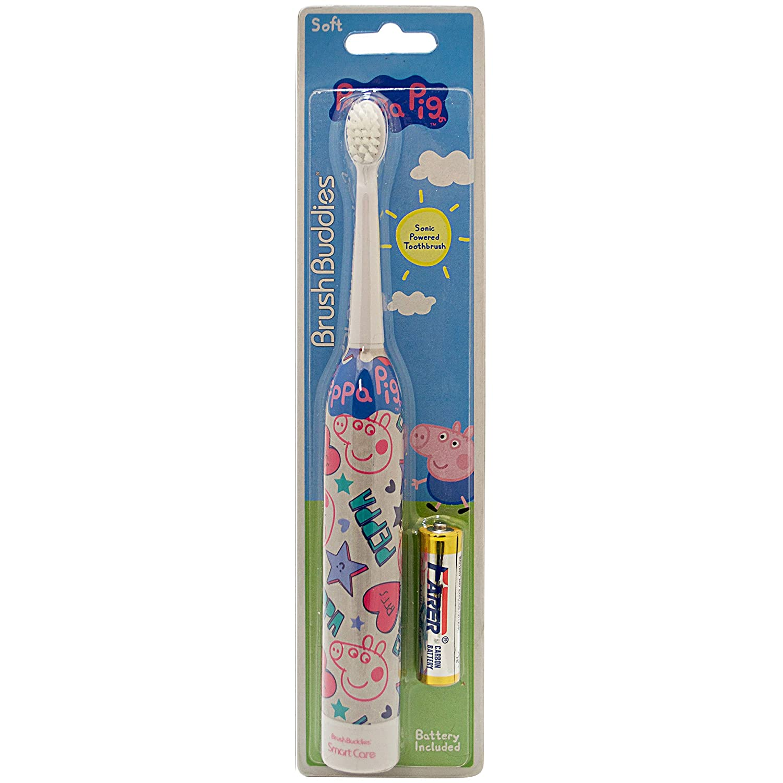 Brush Buddies Peppa Pig Sonic Powered Toothbrush Ashtel Studios Inc 00330-24