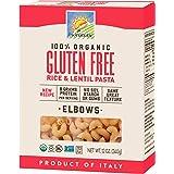 Bionaturae Elbows Gluten-Free Pasta   Rice and Lentil Elbows Pasta   Non-GMO   Lower Carb   Kosher   USDA Certified…