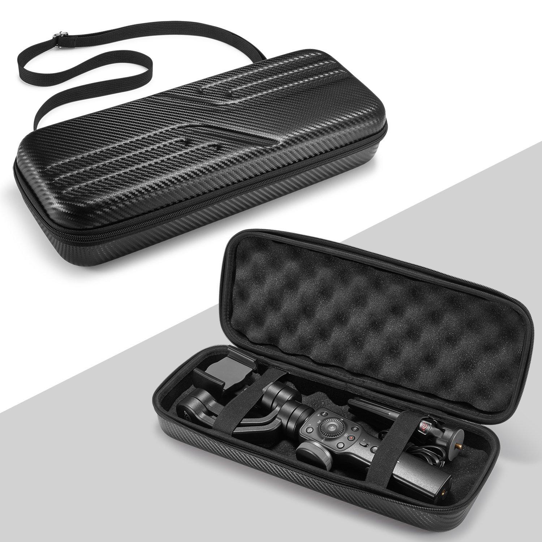 Kuxiu for Zhiyun Smooth 4 Carrying Case, Hard Eva Protection Storage Bag Shockproof Boxes Handbag for Zhiyun Smooth 4, DJI OSMO Mobile 2, Feiyu Vimble 2 Handheld Mobile Gimbal Stabilizer&Accessories